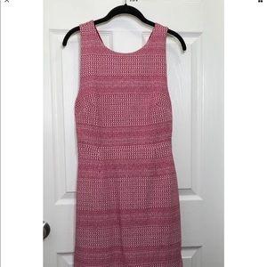 Banana Republic Jacquard Knit Crossback Dress